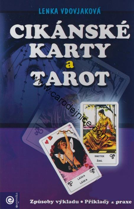 Knihy Cikanske Karty A Tarot Kniha 1 Carodejnicky Obchod