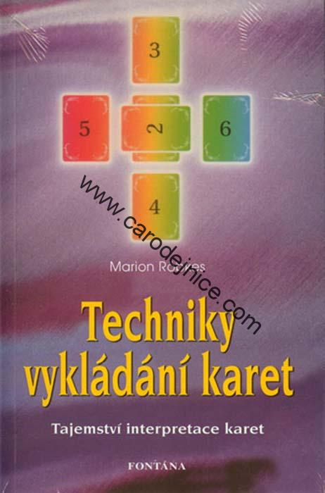 Knihy Techniky Vykladani Karet Kniha 1 Carodejnicky Obchod