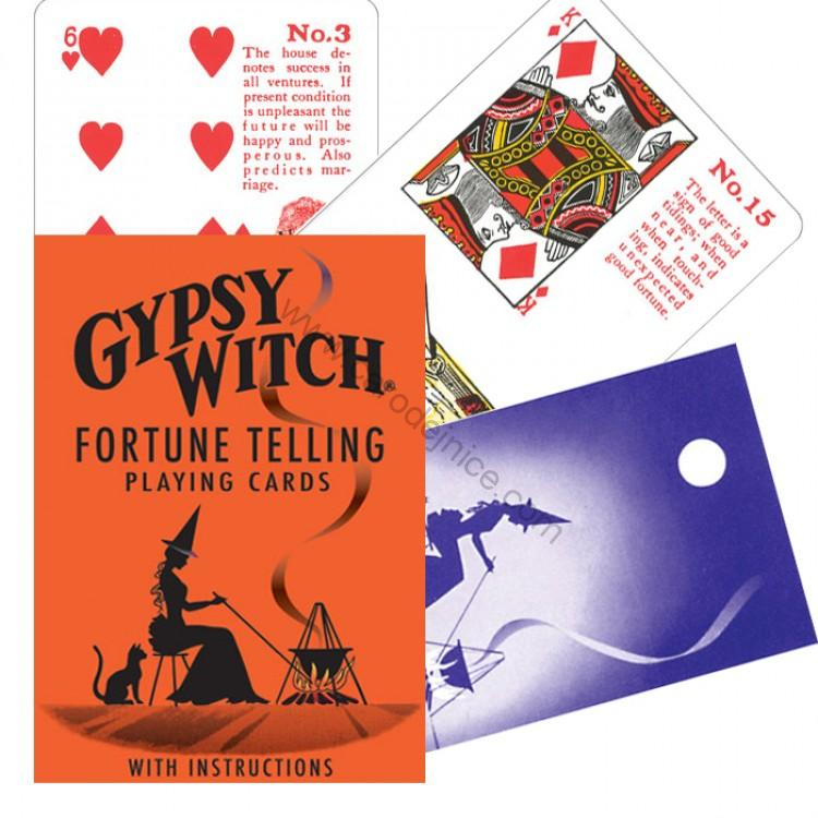 Gypsy Witch fortune telling cards (eng)