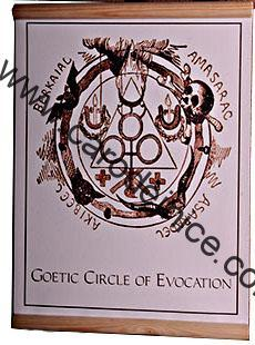 Plátno - Goetic Circle of Evocation
